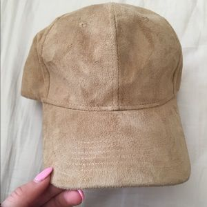 Tan Suede Hat